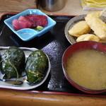 めはり寿司 二代目 - めはり寿司定食