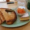 パンとエスプレッソと - 料理写真:ホットサンドセット(モーニング)