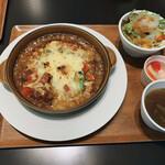 トコロテラス - 料理写真:カレードリアのランチセット