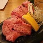 牛京 - 幻のタン芯の厚切り(1,800円×2人前)