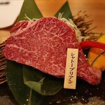 牛京 - 山形牛シャトーブリアン(2,500円)