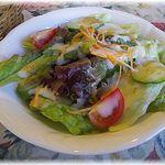 GROSVENOR CAFE - ランチBセットのサラダ