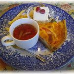 GROSVENOR CAFE - ランチBセット・キッシュ&スープセット ¥800