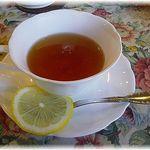 グロヴナーカフェ - ランチBセット・ドリンクの紅茶