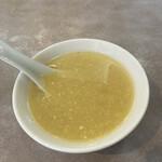 牡丹園 - スープ