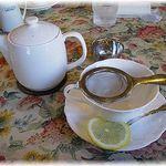グロヴナーカフェ - ランチBセットのドリンク 紅茶