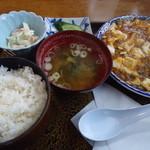 南部駒形屋 - マーボー定食650円