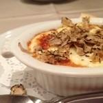 VIA Brianza - 前菜 秋トリュフのオーブン焼き