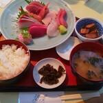 シーフードレストラン うおっせ - 刺身定食