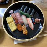 ひょうたん寿司 - 料理写真:中寿司