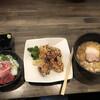 喜多方食堂 麺や 玄 - 料理写真:レディースセットと唐揚げ