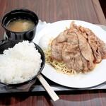 グレコ - 豚のしょうが焼き定食