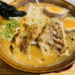 味噌乃家 - 味玉味噌ラーメン780円