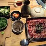 154882973 - 牛ハラミのひつまぶし丼ランチ 2180円