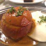 コンコンブル - トマトの肉詰めロースト