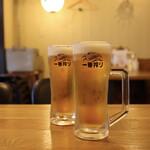 イザカヤキツネ - 生ビール