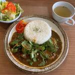 ホクトカレー - JAPANチキンカレー  withパクチー