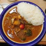 エチオピアカリーキッチン - ポーク野菜