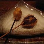 串かつ  のぐち - 椎茸