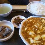 桃園 - マーボー定食 700円