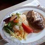 レストラン カナル - ハンバーグ