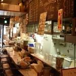 Oyster Bar ジャックポット - 隣のエカイエJP、カウンター席で気軽に牡蠣をお楽しみいただけます♪