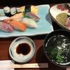 壱岐寿司 - 料理写真:にぎり定食=1100円 税込 ※ランチメニュー