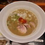 麺や いま村 - 鷄煮干しらーめん醤油(900円)