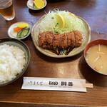 川善 - 上ヒレかつ定食