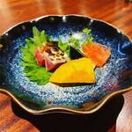 154922480 - 冷麺を選んだバージョンの前菜盛り