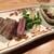 OSAKA きっちん。 - 料理写真:Aランク黒毛和牛サーロインステーキ