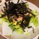 魚菜酒蔵 だいがく - 和風サラダ