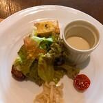 チッタ - 料理写真:前菜 どれもちょびっと