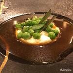 154929654 - 自家製リコッタチーズと焼ピセッロのズッパ