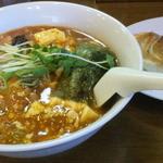 餃子の庶民亭 - マーボー麺+餃子