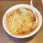 ラーメン 木曜日 - カラニボ + チャーシュー + 味付け玉子 + ゆでもやし (麺)    ¥550+¥150+¥50+¥50=¥800