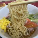 中国料理 江陽 - 冷やし中華の極細麺
