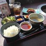154936837 - 【黒毛和牛切落としランチ】(1760円税込)