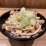 麺 TOKITA - チャーシュー飯(250円)。