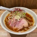 麺 TOKITA - 海老味噌らぁ麺(880円)。