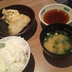 天ぷら八兵衛 - 料理写真:天ぷら定食   700円なり