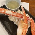 かに満 - 蟹酢 酢がしっかりと効いた蟹酢
