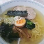 154952883 - 醤白ラーメン❤さっぱり美味しいスープ