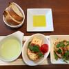 クラッカ イタリアン - 料理写真:ランチ 前菜3種&パン