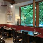 ベーカリー&レストラン 沢村 - 外のグリーンも綺麗