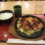 ポプリンキッチン - この日の日替わりメニュー ジュ―ジュ―ひれか¥680