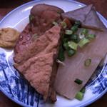 松崎屋谷四店 - おでん5種盛り(*⁰▿⁰*)