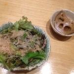 15498012 - ランチのサラダと小鉢