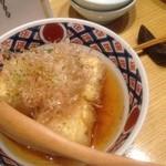 15498045 - 揚げ出し豆腐