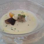 レストラン ミッテ - 前菜(冷製スープ仕立て)
